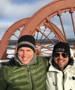 Jay Chmelauskas (Chairman) and Matthew Hornor (CEO) – view from Head Frame